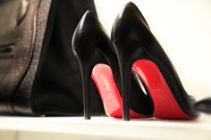 8ad529f65c01 Soulmates....Laboutin and Celine. Red Sole