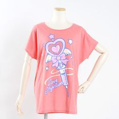 LISTEN FLAVOR Magical Syringe Dolman Sleeve T-Shirt