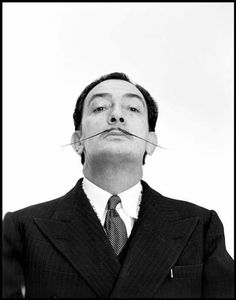 SALVADOR DALI.....1954....NEW YORK CITY.....PHOTO BY PHILIPPE HALSMAN