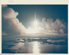 Reach new heights: Liftoff of the last lunar mission, Apollo 17, December 1972