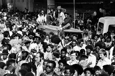 Very rare photo of UK reggae act ASWAD, sitting on top of a sound-system van, Notting Hill Carnival, 1979 © Vernon St-Hilaire