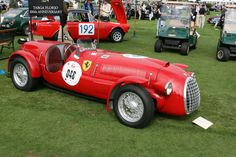 Ferrari 166 Spyder Corsa (Chassis 002C - 2006 The Quail, a Motorsports Gathering) High Resolution Image