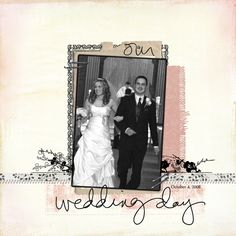 wedding book cover page