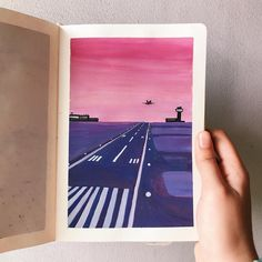 Simple Oil Painting, Simple Canvas Paintings, Small Canvas Art, Diy Canvas Art, Watercolor Beginner, Beginner Painting, Watercolor Illustration, Watercolor Paintings, Watercolor Sketchbook