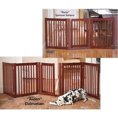 3-Panel Walk-Through Gate - Dog Beds, Dog Harnesses and Collars, Dog Clothes and Gifts for Dog Lovers | In The Company Of Dogs