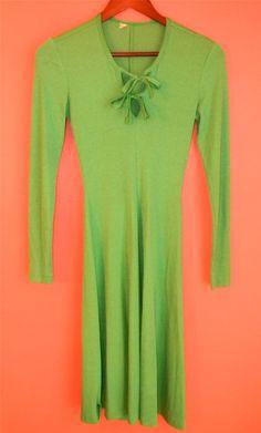 Vintage Fairy Green Long Sleeve Renaissance by PinkCheetahVintage