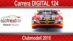 Video: Carrera Clubmodell 2015 – Mercedes Benz SLS AMG GT3 (23817)