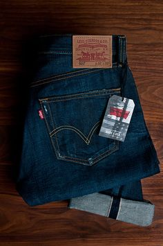 Levi's 501 Selvedge denim