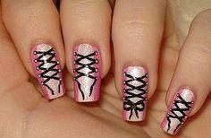 really cute nail art!
