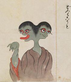 Dōmo-kōmo, どうもこうも «Bakemono Zukushi»