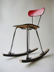 OOOMS Rocker - turn almost any chair into a rocking chair