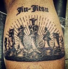 Afbeeldingsresultaat voor bjj chess tattoo