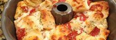 Dieses Pizza-Brot, was man auseinander ziehen kann, ist wirklich HIMMLISCH & innerhalb einige Minuten angefertigt!