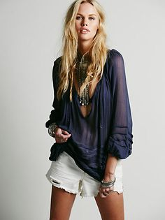 Tie That Binds Blouse Free People