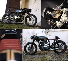 Honda CB550 Cafe Racer by EASTERN SPIRIT #motorcycles #motos #caferacer | caferacerpasion.com