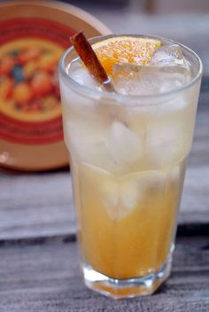 Apple Cider Soda: Maçã, Laranja, Canela, Gengibre e Água Tônica
