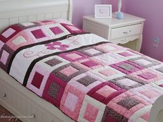 Patchwork quilt (the quilting)