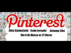 Programa realizado na radiovlogs no dia 9 de março de 2012 sobre Pinterest, com a participação de Solange Eiko, Alex Anunciato e Kadu Fernandiz. Produção e apresentação de Lisandra Golba.