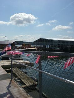 Green river marina ready for the 4th