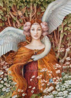 "alifeoffairytales: "" Jewelled Swan A3 Print by kaelycea (Katrina Sesum) """