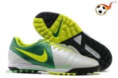 Light Nike CTR360 Libretto III TF Boots - White Volt Green