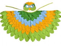 Parrot Costume Kids Halloween Bird Costume| BHB Kidstyle