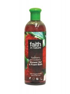 Faith in Nature Raspberry & Cranberry Shower Gel