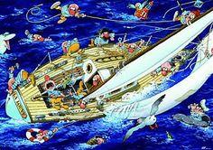 Sailors jigsaw puzzle by Heye