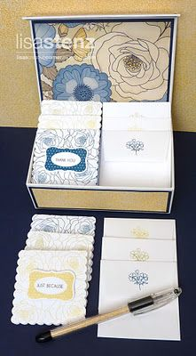 #CTMH Pemberly Note Box Set