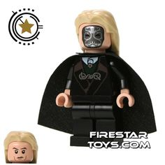 I *MUST* acquire this.  LEGO Harry Potter Minifigure - Lucius Malfoy Death Eater