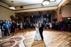 We love the very Milwaukee history of Best Place. And we love what they've done with their new venue space, The Great Hall. Built in 1858, Best Place has two venue spaces and parts of it were originally the Pabst Brewery corporate offices. In fact, Captain Frederick Pabst's office and Desk are intact and can be incorporated into your wedding. Photo by Jadon Good Photography.
