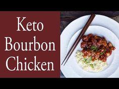 Burbon Chicken Recipe, Bourbon Chicken, Keto Restaurant, Restaurant Recipes, Ketogenic Recipes, Low Carb Recipes, Healthy Recipes, Free Recipes, Keto Chicken