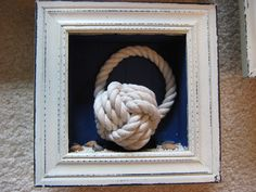 Fake-It Frugal: Nautical Knots Shadow Boxes