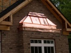 Contact Jim Hicks Home Improvement Services and ask Jim to transform your house, inside or out, into a beautiful new living space you will love for years to Metal Awning, Metal Roof, Types Of Roofing Materials, Copper Work, Breakfast Nook, Bay Window, Gazebo, Living Spaces, Home Improvement