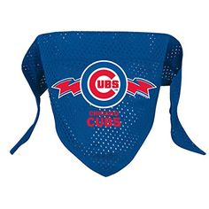 Hunter MFG Chicago Cubs Mesh Dog Bandana, Small -- Be sure to check out this awesome product.