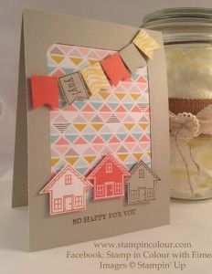 Stampin Up SAB You Brighten my Day CASE-001