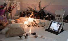 winter workspace Studio