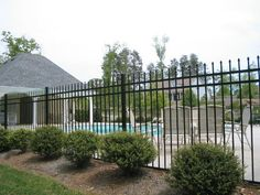 Iron fence for around the pool.