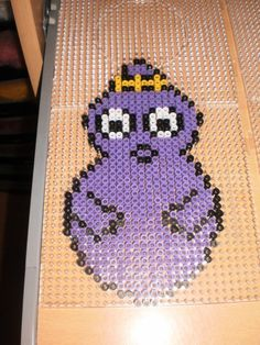 Barbabelle Barbapapa hama perler by creations-differente - skyrock