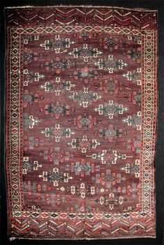 Turkmen Yomud Main Rug