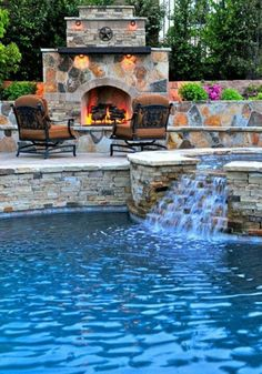Bricked in Poolside with grill