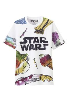 May the fourth be with you! Celebrate with this awesome Star Wars gear - Ideas of Star Wars Outfits - May the fourth be with you! Celebrate with this awesome Star Wars gear T-shirt Star Wars, Star Wars Outfits, Star Wars Merchandise, Star Wars Tshirt, Star Wars Collection, Geek Culture, Uniqlo, Mens Tees, Cool Shirts