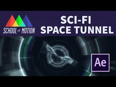 Make A Sci-Fi Space Tunnel in After Effects - YouTube