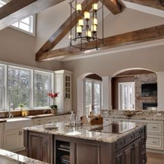 7 Unique Ideas Can Change Your Life: Mid Century Kitchen Remodel Home farmhouse kitchen remodel cabinets.Ikea Kitchen Remodel Little Houses narrow kitchen remodel.Ikea Kitchen Remodel Little Houses. Home, Home Kitchens, Kitchen Remodel, Kitchen Design, House Design, Fabulous Kitchens, Sweet Home, Home N Decor, Dream Kitchen