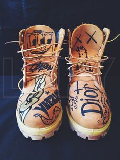 Timberland Custom Boots by PHNTM on Etsy