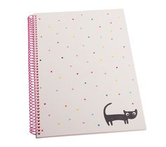 Add a little colour to your everyday with this fun A4 Notebook. Perfect for school, university, meetings and more.