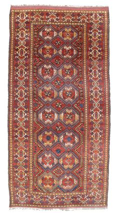 Beshir Carpet. Central Asia, Mid-19th century.  6 ft 4 in. x 12 ft.  Peter Pap Oriental Rugs, Inc.  http://www.peterpap.com/