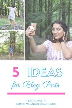 Blogging tips, blog inspiration tips, blog post ideas, new blogger