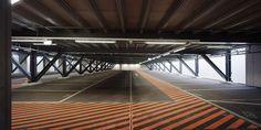 Erweiterung Rheinparking, Schäublin Architekten, 2014 / Zusammenarbeit mit Karin Gauch