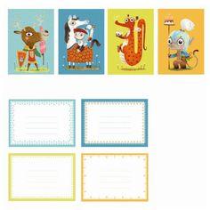 Djeco Einladungskarten Kindergeburtstag Ritter Burgparty mit Umschlägen - Bonuspunkte sammeln, Kauf auf Rechnung, DHL Blitzlieferung!